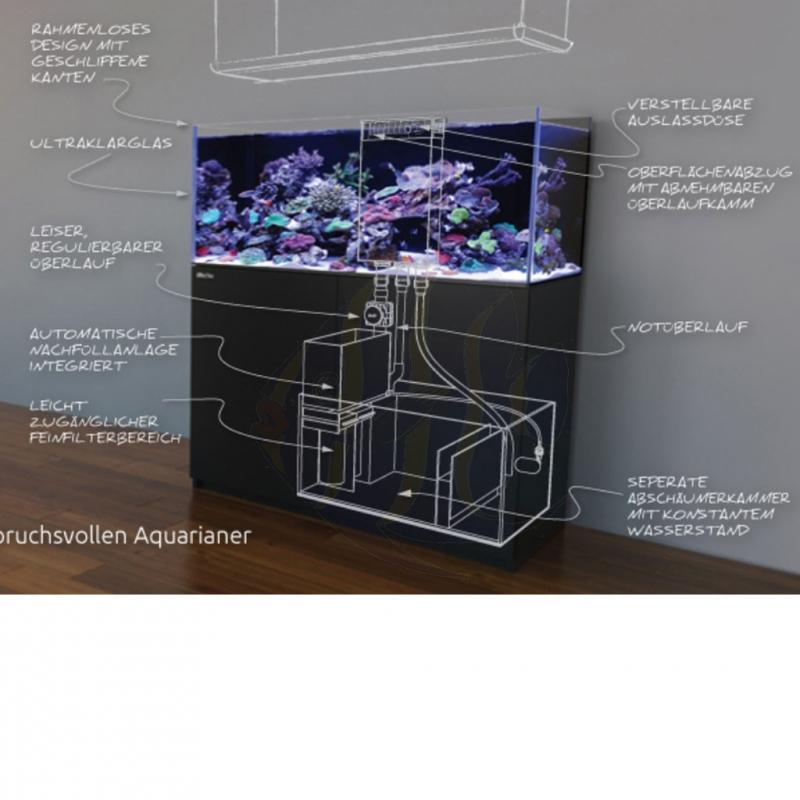 Red Sea Reefer Aquarium Nano Schwarz R42101 Mrutzek